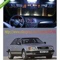 Free Shipping 7 PCS Error Free  Canbus SET White LED SMD Interior Light KIT FOR Audi 100 A6 C4