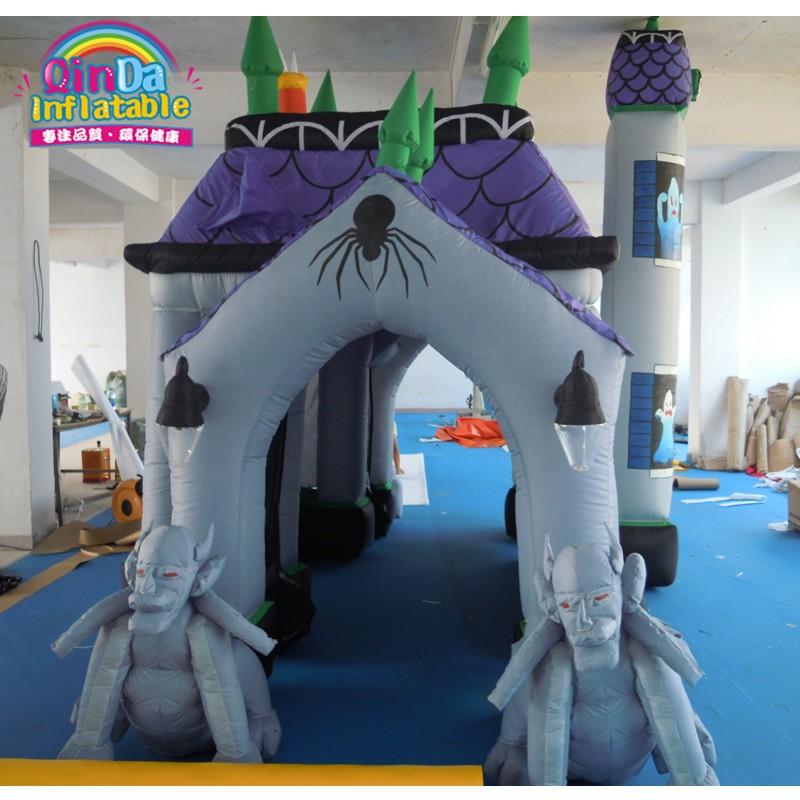 halloween inflatable haunted house28