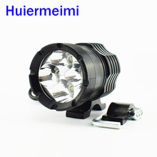 hot deal buy huiermeimi 1pcs 40w motorcycle u2 led spotlights high brightness auxiliary work headlights waterproof  motorbike fog lamp lights