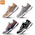 Оригинальная удобная спортивная обувь в стиле ретро Xiaomi Mijia FREETIE  дышащая обувь для бега  высокая эластичная сетка  поверхность для мужчин