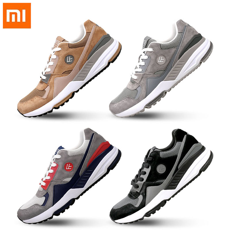 Original Xiaomi Mijia FREETIE Retro Sports Shoes Comfortable wearable Breathable run shoes High elasticity Net surface for Men