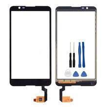 "Alta Calidad 5.0 ""Para Sony Xperia E4 E2104 E2105 Pantalla Táctil Lente de Cristal Delantera Digitalizador Del Sensor Del Panel Envío gratis"