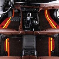 Car Floor Mats For Chevrolet Spark Camaro Cruze 2011 2012 Car Styling Floor Carpets Auto Interior Floor Rugs Accessories J214