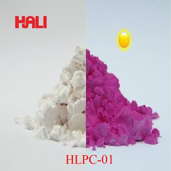 Pigment fotochromowy magenta proszek fotochromowy energia słoneczna reaktywne pigmentu światła włączyć 1 partia = 50 gram HLPC-01 czerwony darmowa wysyłka tanie i dobre opinie Farby akrylowe Szkło Płótno Papier HALI Luźne white red(close to pink) paint coatings DIY decoration resins 50gram