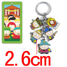 South Park Action Figures Toys Keychain