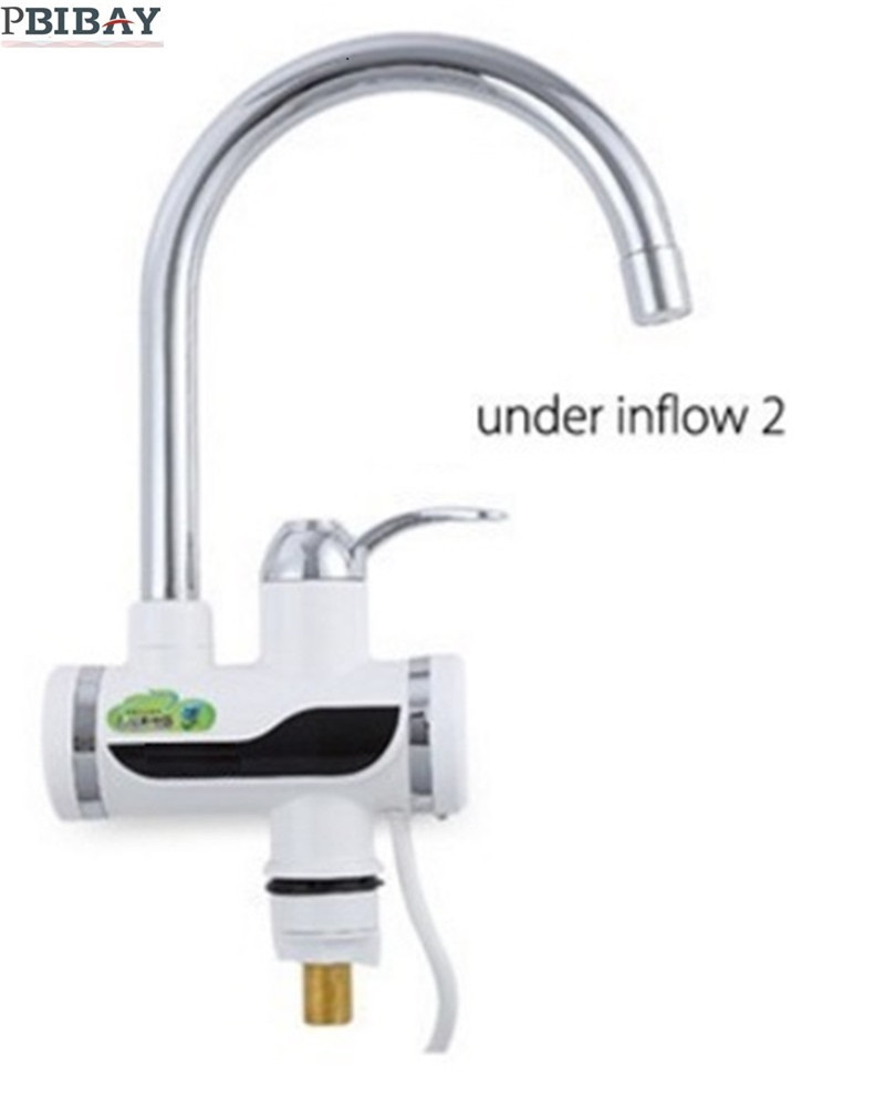 BD3000W-6,free Shipping,Digital Display Instant Hot Water Tap,Tankless Electric Faucet,Kitchen Faucet Water Heater