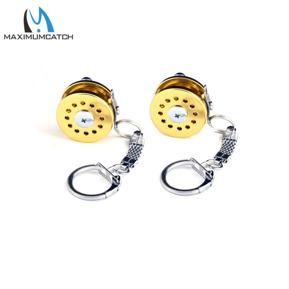 ALI shop ...  ... 32922527658 ... 3 ... Maximumcatch 2pc Key Chain With Key Ring Fishing Reel Keychain Scroll Retractor Fishing Accessory ...