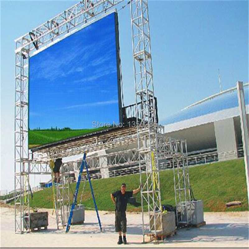 Full Set Of Rgb P10 Outdoor Led Screen High Resolution