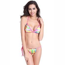 Купить с кэшбэком  Bikinis 2019 mujer Swimsuit women bikini Push Up set separate Brazilian Biquinis Swimming for Women plus size swimwear