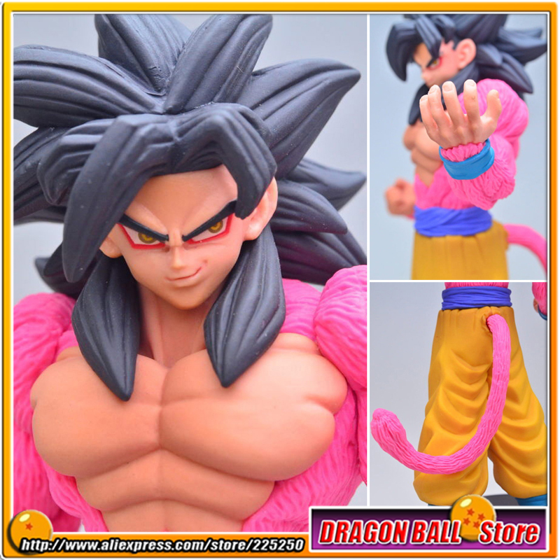 Japanese Anime Dragon Ball Z GT Original BANPRESTO Toy PVC Figure DRAGONBALL HEROES DXF Vol.3 - Son Goku Super Saiyan 4 dragon ball dxf the super warriors vol 3 super saiyan rose gokou black and vegetto pvc figure collectible model toys kt4201