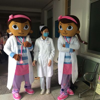 Doc McStuffins Mascot Costume Party Costumes Fancy Dress Suit Free Shipping Cosplay Cost ...