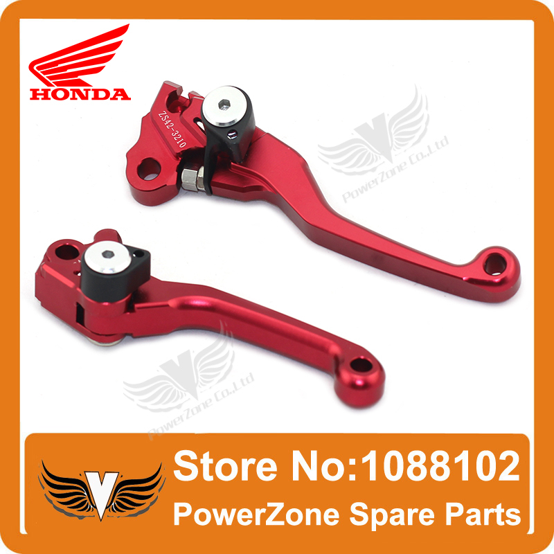 ФОТО CNC Pivot CRF Motorcross Racing Clutch and Brake Folding Lever Fit to CRF250R CRF450R 04 -06 250X 450X 04-09 Free Shipping!