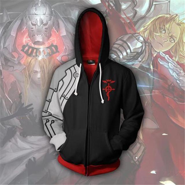 Fullmetal Alchemist 3D Hoodie