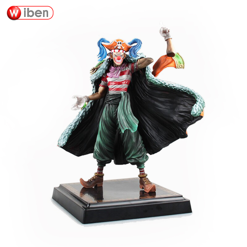 ФОТО Anime One Piece Buggy  PVC Action Figure Collection Model Toy Gift