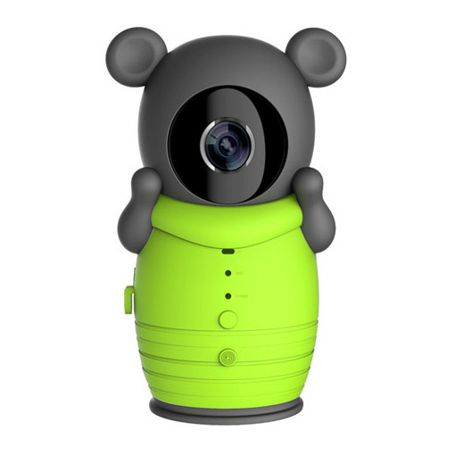 2W Smart Camera WiFi Wireless Babys Monitor Intelligent Alerts Night Vision Nanny IP Cameras Support iOS Baby Pedaling reminer