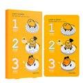 HOLIKA HOLIKA Gudetama Lazy & Easy Pig Nose Clear Black Head 3 Step Kit Nose Mask Strips Remove Blackhead Peeling Acne 1pcs