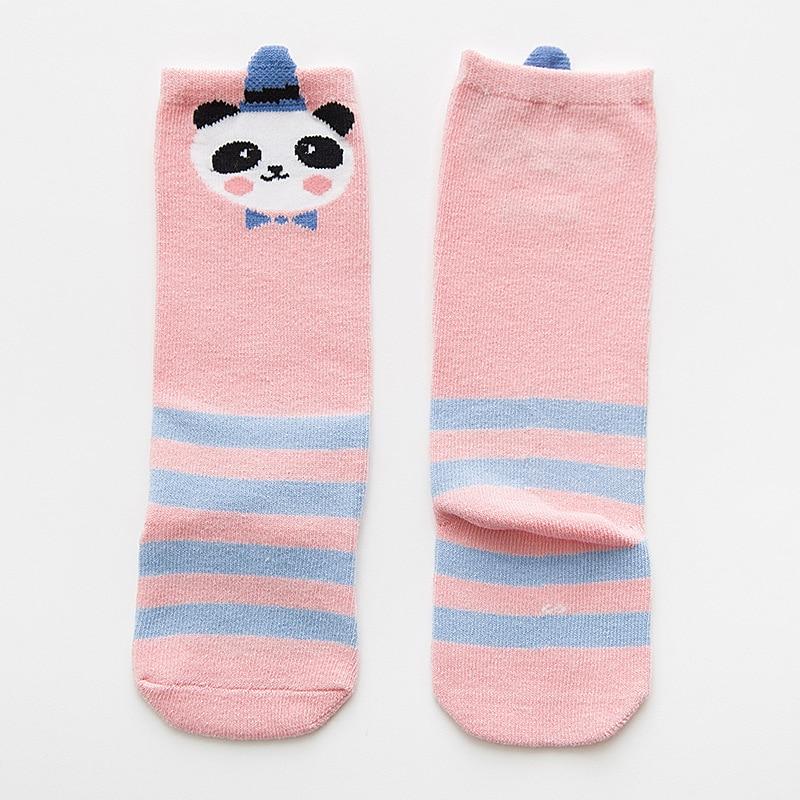 0 3Y Baby Socks Cotton Three Dimensional Eyes In The Tube Baby Socks Children Socks Cute Cartoon Striped Baby Socks Wholesale in Socks from Mother Kids
