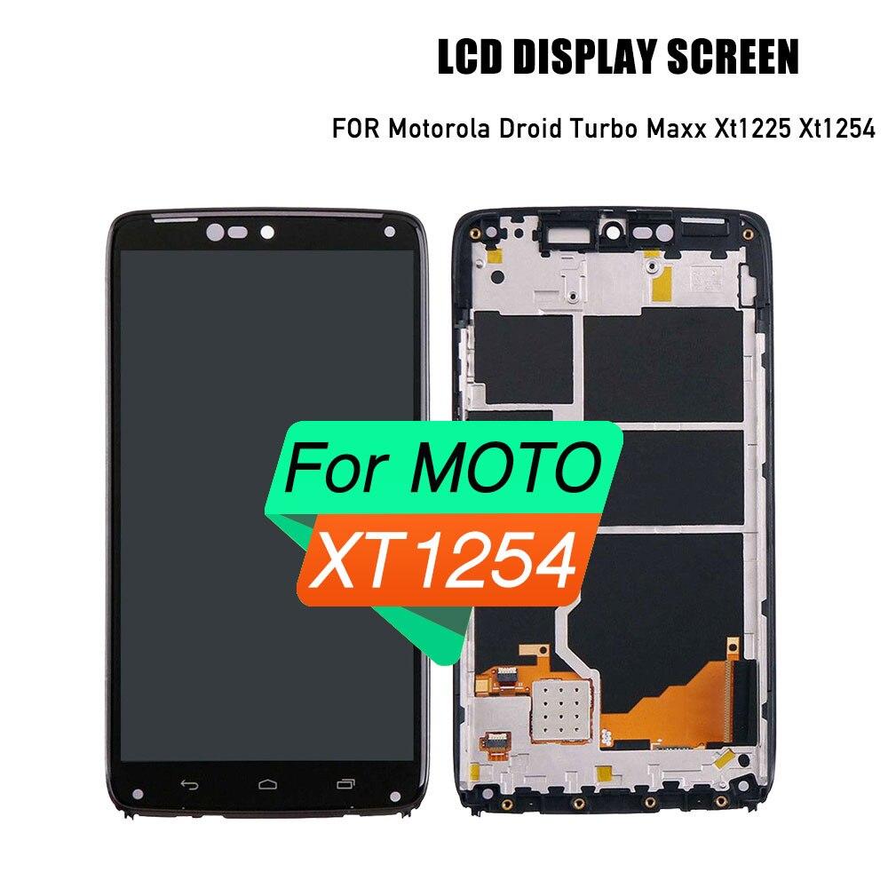 High quality lcd touch screen for Motorola Droid Turbo Maxx Xt1225 Xt1254 lcd digitizer screen assemblyHigh quality lcd touch screen for Motorola Droid Turbo Maxx Xt1225 Xt1254 lcd digitizer screen assembly