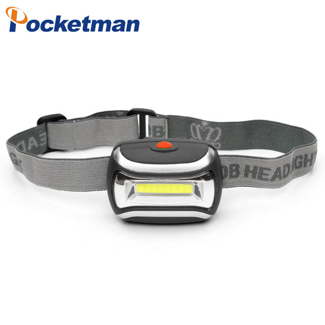 Headlamp Led COB waterproof 3Modes 700lm linternas frontales cabeza head light flashlight hoofdlamp Free Shipping