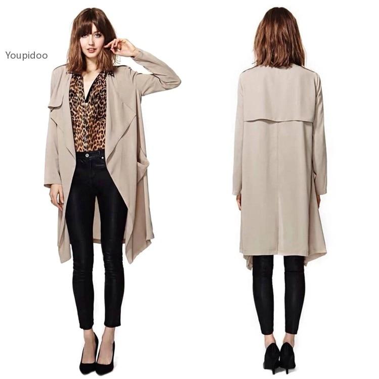 haute drapes womens hippie trench com flared women coat s overlay draped dp clothing amazon