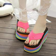 2019 wholesale women flip flops sandals slippers new thick