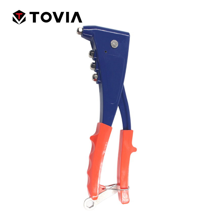 Tovia Aluminum Hand Riveter For Stainless Steel Steel And Aluminum Rivets Clamp Bolt Pull Nail Puller Gun Hand Tools Multi Tool