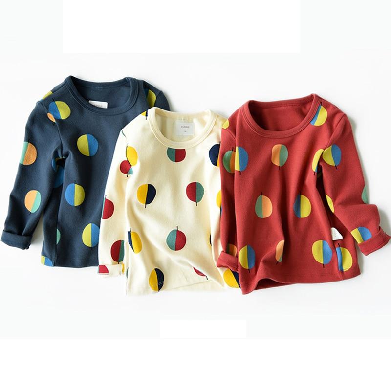 Children T-Shirts Kids Tops Long-Sleeve Autumn Boys Winter Cotton BC614 Costume Tees