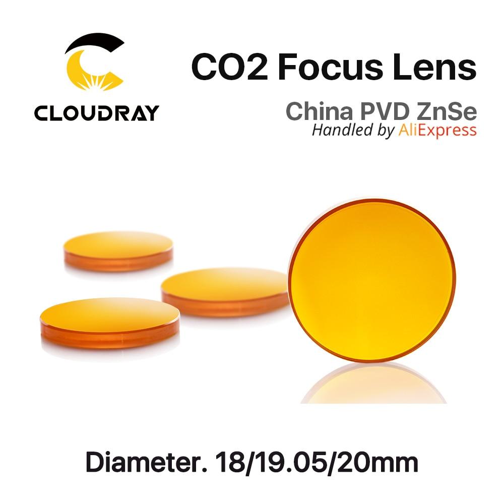 Diámetro de la lente de enfoque de CO2 ZnSe de China. 18 - 20 mm FL - Instrumentos de medición - foto 3