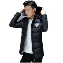 The winter of 2016 new men cotton-padded clothes In the fashion leisure long thickened cotton coat big yards L-6XL