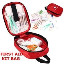Мини Портативный аварийный спасательный мешок Семейный комплект первой помощи спортивные дорожные наборы Домашняя медицинская сумка открытый автомобиль