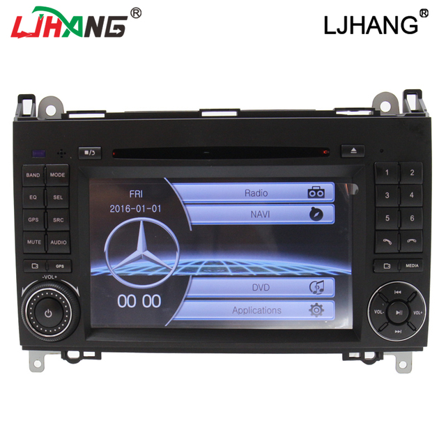 High digital touch screen Car DVD Player gps for  Mercedes A B Class W169 W245 Viano Vito W639 Navigation with SWC  RDS,BT