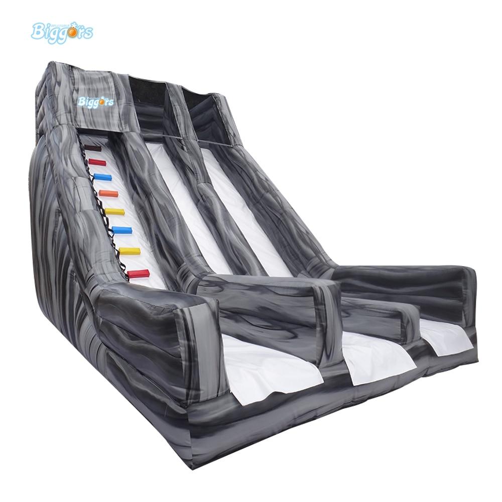 Entertainment Pvc Tarpaulin Inflatable Combo Bouncer Slide Giant Commercial Inflatable Slide For Adult цены онлайн