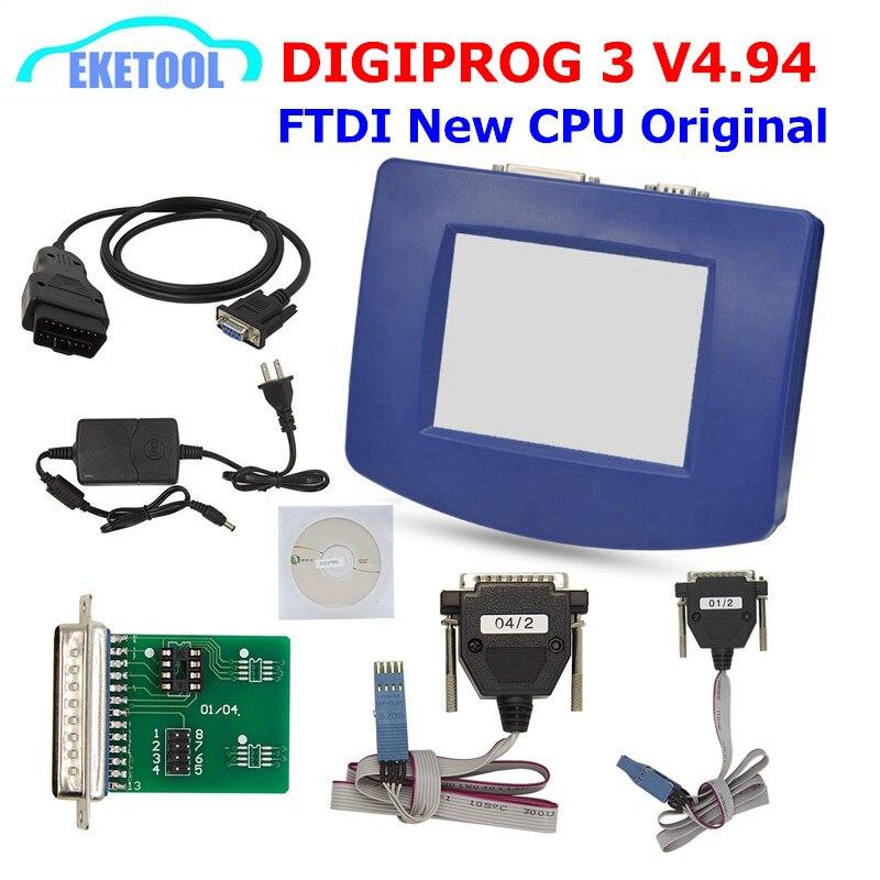 Digiprog 3 V4.94 БД Версия FT232 стабильное качество Digiprog3 OBD ST01 ST04 Ddometer коррекции Digiprog iii OBD кабель