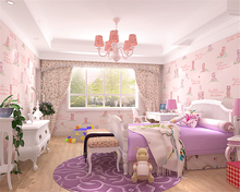 beibehang Fashion personality wall paper bear childrens room stereo girl boy bedroom pressed nonwoven papel de parede wallpaper