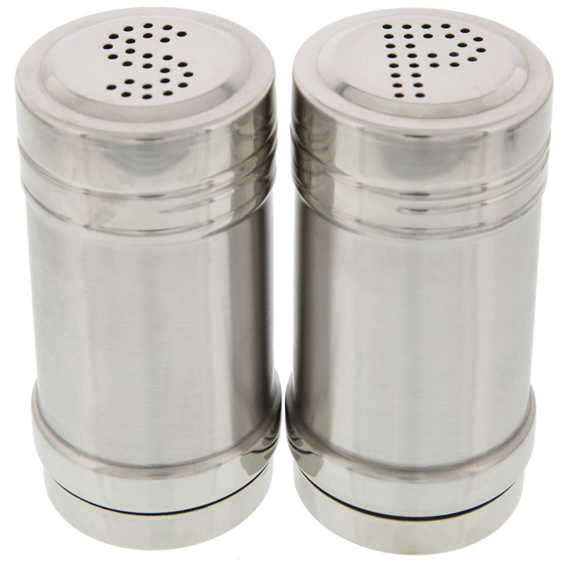 Salt and pepper shakers high quality modern stainless for Innovative kitchen utensils