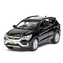 1:32 diecast alloy car model new energy Song simulation sound and light pull back childrens toy decoration collection gift