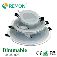 Hot Sale LED Recessed Panle Light Dimmable SMD 3560 Celing Lamp Round Spot Lights Lamps LED