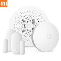 Xiaomi Mijia Smart Home Aqara Security Set Multifunctional Gateway Remote Control Window Door Sensor Set Smart