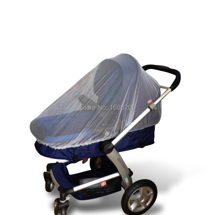 SILVERFIBER 100% Shielding fabric Mosquito net for baby carriage YEC001#