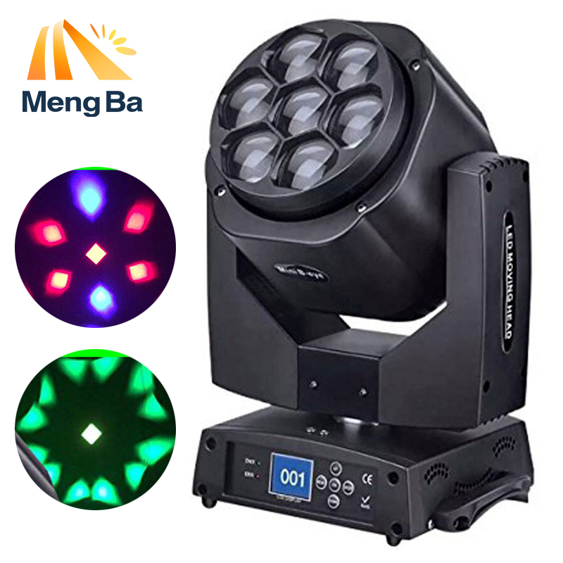 MengBa 7X15w RGBW 4-IN-1 beam light  washing light DMX512 moving head light Professional Stage & Dj/Party/ Lighting EffectMengBa 7X15w RGBW 4-IN-1 beam light  washing light DMX512 moving head light Professional Stage & Dj/Party/ Lighting Effect