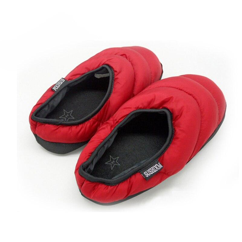 Appartements Zapatillas Blue Casual Le D'hiver Maison sky Léger navy Chaussures Pantoufles Unisexe Bas Femmes Blue armygreen red Vers Z Couple Black O7aqS1wz