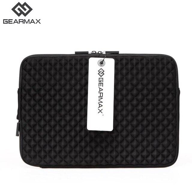 """Gearmax 11 12 13 14 15 laptop saco caso para caso macbook air 13 preto azul rosa tampa do notebook 13 """"mulheres Homens Bolsa Para Laptop Manga 14"""