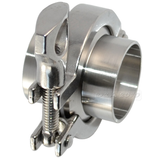 Set sanitary coupling with mm quot od