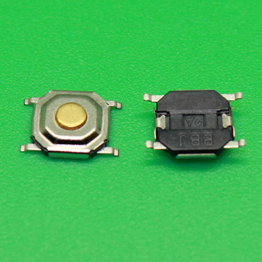 1x4x4x1.5mm Waterpfoof מתגי מגע Push Button SMD תאקט Switch 4*4*1.5mm
