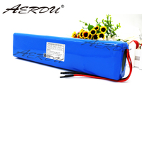 AERDU 36V 10S4P 10Ah 42V 18650 Strip lithium ion battery pack with 20A BMS For ebike electric car bicycle motor scooter 600Watt