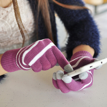 1PC Screen touch gloves Unisex Winter Knit Glove for Mobile Phone Tablet Pad warm glove New