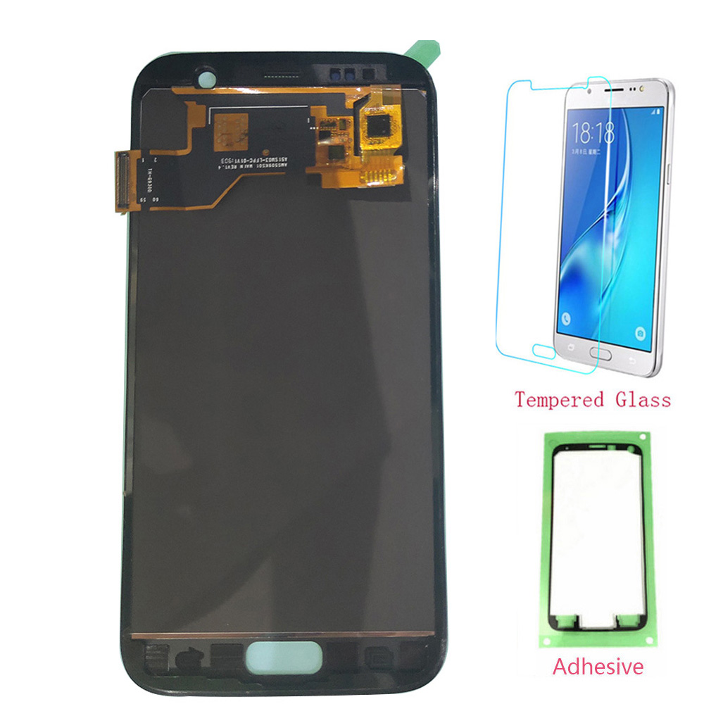 Test OLED LCD For SAMSUNG Galaxy S7 G930 G930F LCD Display Touch Screen Digitizer For SAMSUNG S7 G930F SM-G930F Assembly image