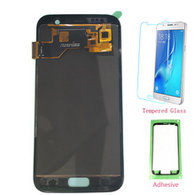 Test Oled Lcd Voor Samsung Galaxy S7 G930 G930F Lcd Touch Screen Digitizer Voor Samsung S7 G930F SM G930F Montage