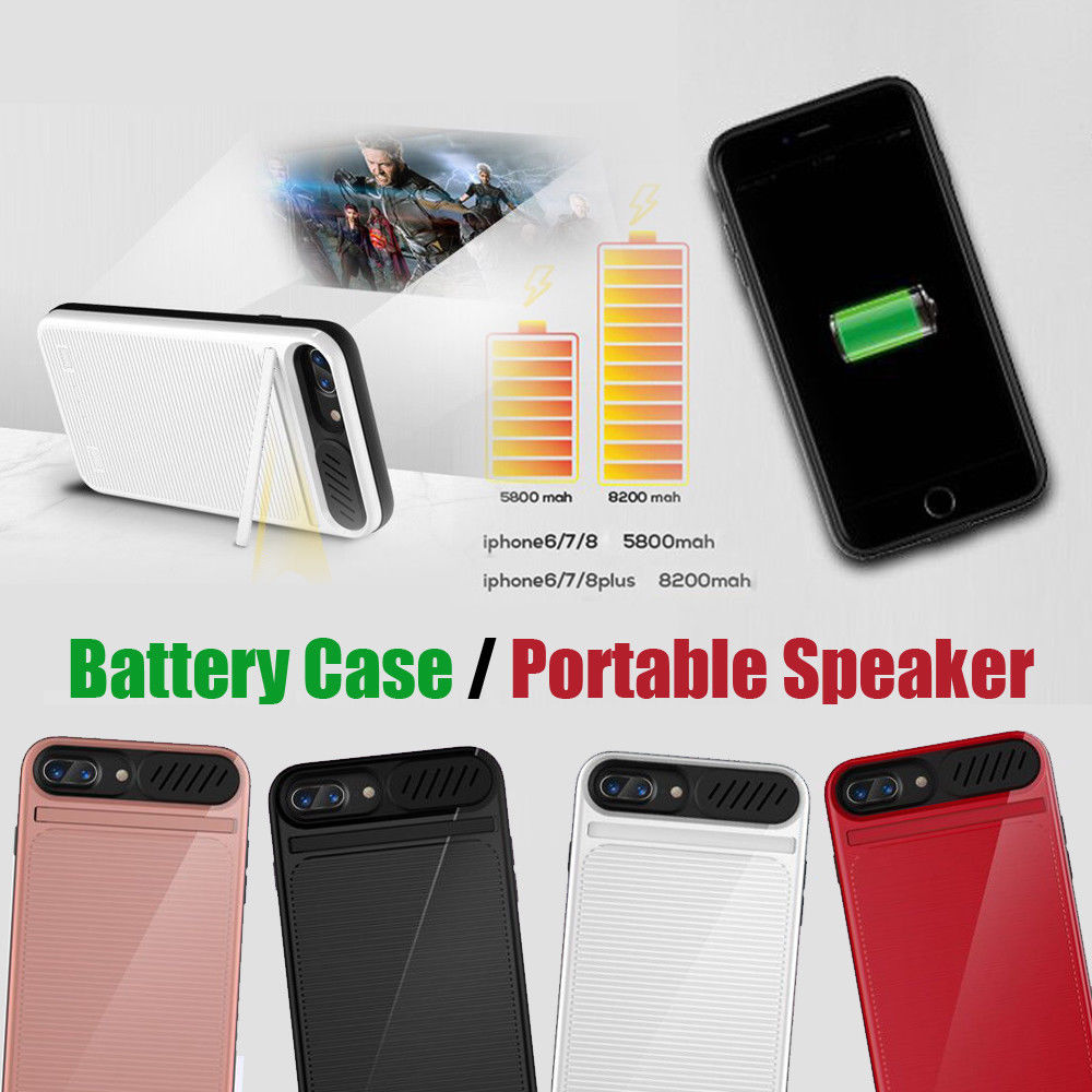 5500mAh 3in1 Speaker Battery Case For iphone 6 6S 7 8 Power bank Charger /Movie/Music Phone cover for 6Plus 7Plus 8Plus5500mAh 3in1 Speaker Battery Case For iphone 6 6S 7 8 Power bank Charger /Movie/Music Phone cover for 6Plus 7Plus 8Plus