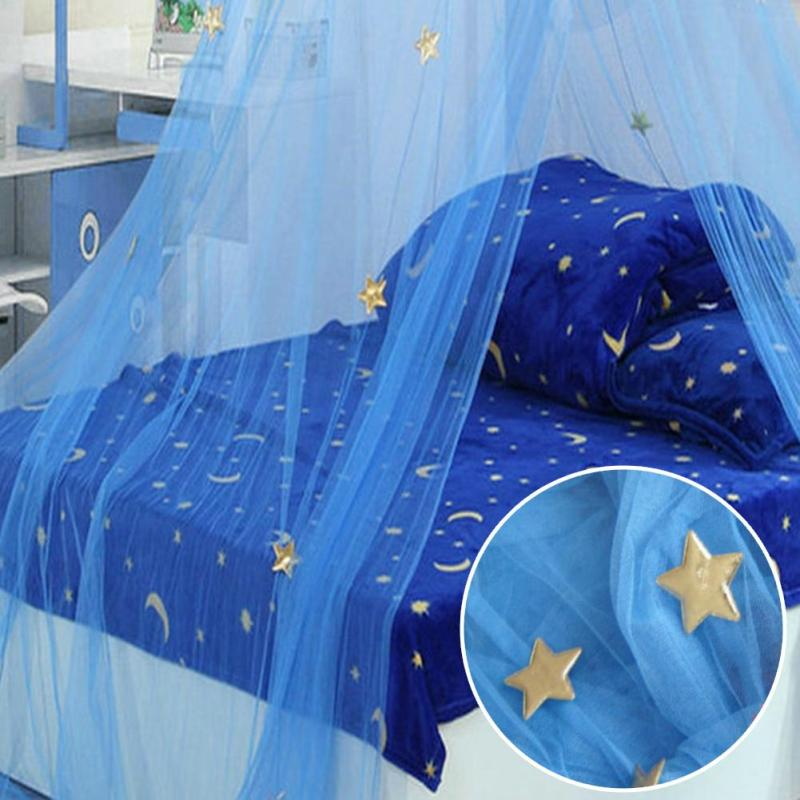 High Quality Baby Bed Mosquito Net Breathable Insect Mosquito Net Holder Baby Bed Canopy Baby Cribs Round Dome Crib Netting A1